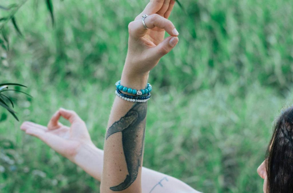 Finger Mudras - Die Hände