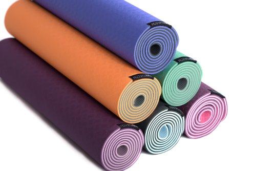 Yoga Ausruestung - Die richtige Yogamatte