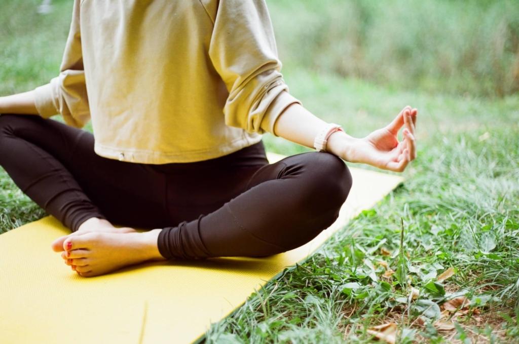 Yogamatte für draußen - Das ist zu beachten