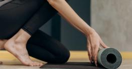 Yogamatte - Welche Seite gehört nach oben?